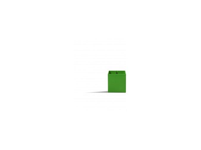 Magnetický květináč CUBE 6cm, zelená