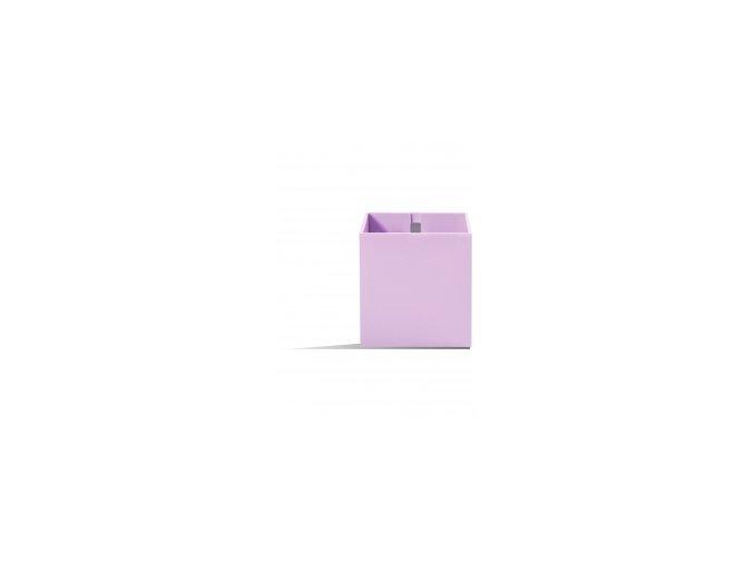 Magnetický květináč CUBE 9cm, světle fialová