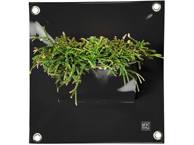 Kapsář na květiny PEVA 50x45 cm, černá