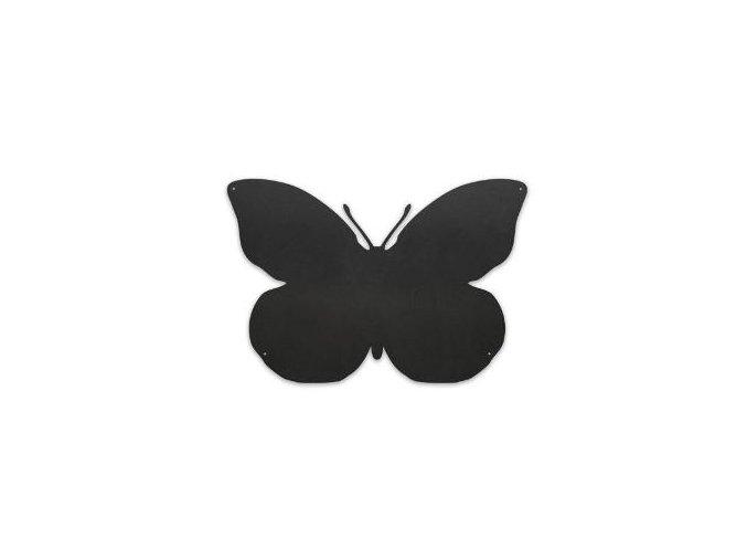 Magnetická tabule 56x38 cm motýl, černá