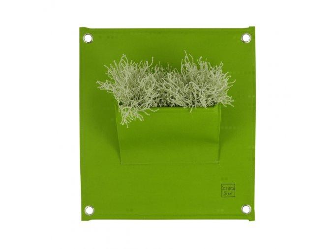 Gardners.cz Sezónní kapsář na rostliny THE GREEN POCKETS 50x45 cm, tmavě zelená