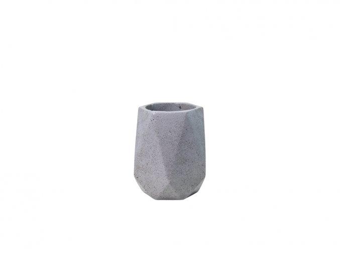 Betonový obal Saturn 6 cm, šedivá