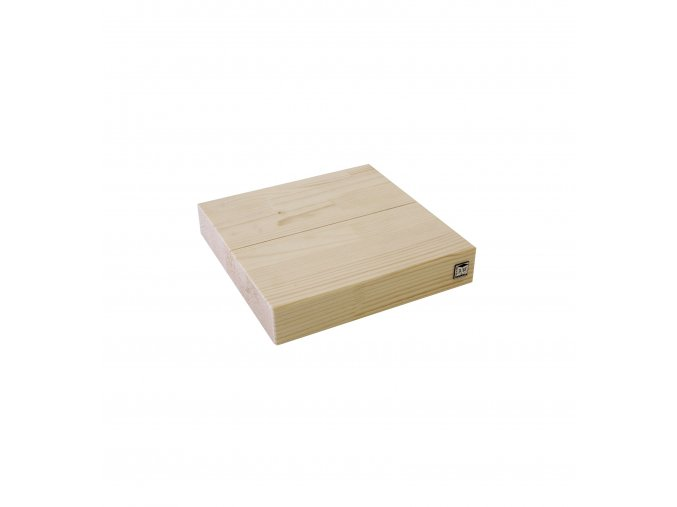 base legno 20x20x4 cm