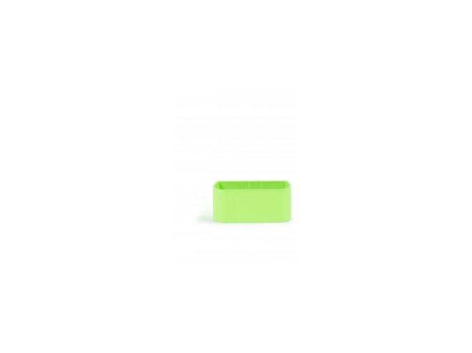 Magnetický květináč TRUHLÍK 2x6cm, světle zelená