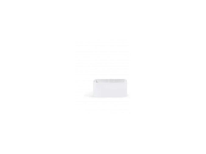 Magnetický květináč TRUHLÍK 2x6cm, bílá