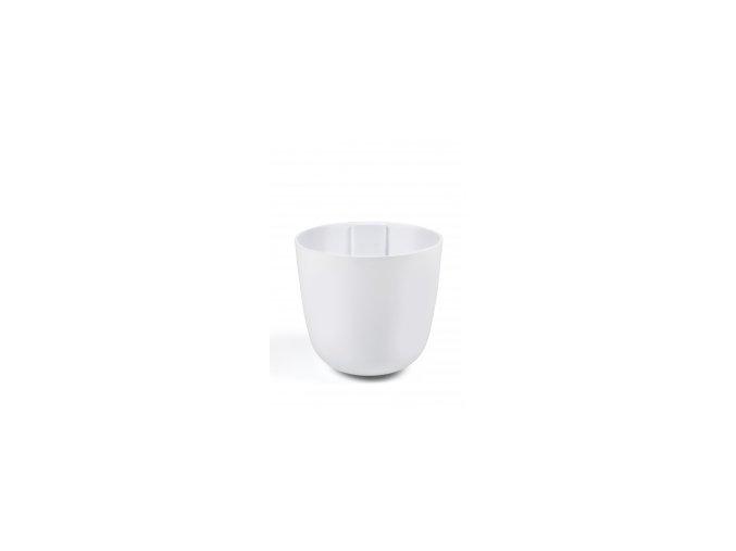 Magnetický květináč BOWL 10cm, bílá
