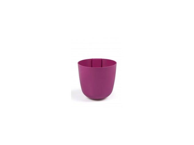 Magnetický květináč BOWL 10cm, fuchsiová