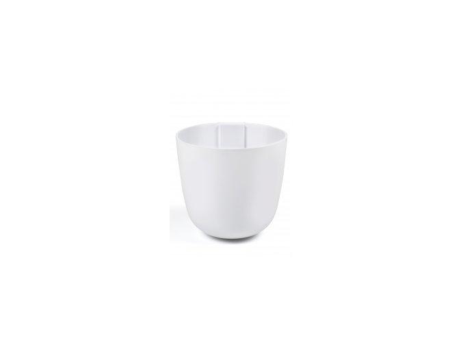 Magnetický květináč BOWL 15cm, bílá