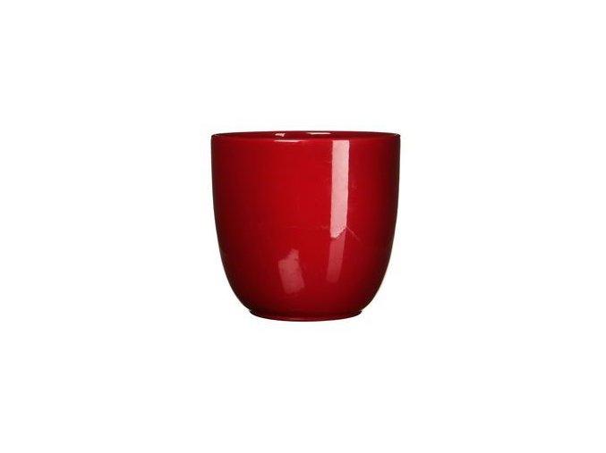 Keramický obal BASIC 14 cm, červená