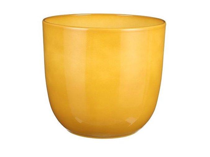 Keramický obal BASIC 28 cm, žlutá