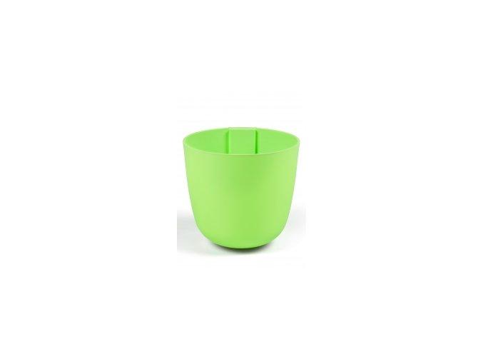 Magnetický květináč BOWL 15cm, světle zelená