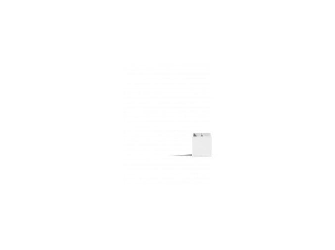 Magnetický květináč CUBE 3,5cm, bílá