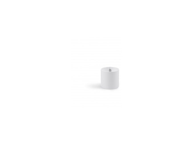 Magnetický květináč CYLINDER 6cm, bílá