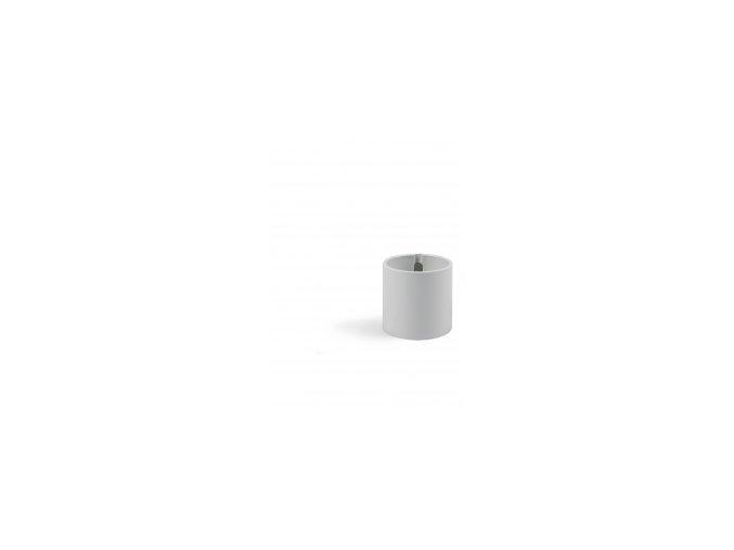 Magnetický květináč CYLINDER 6cm, světle šedivá