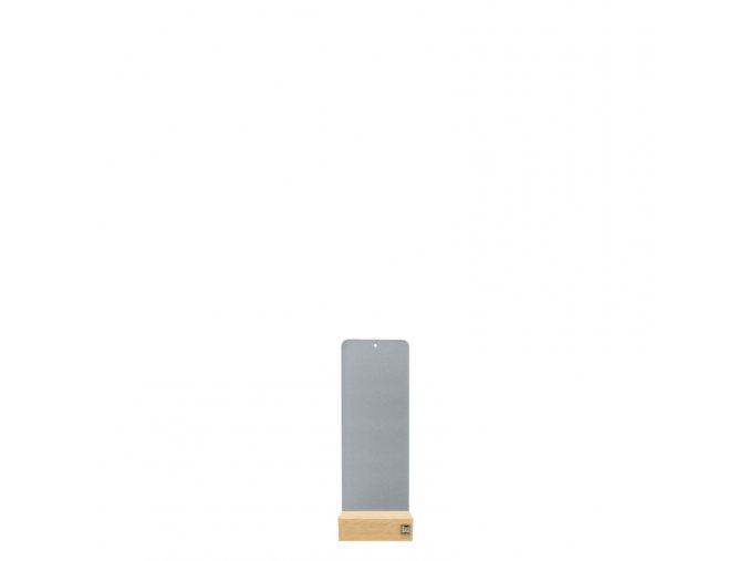 Podstavec pro magnetické květináče 9x24 cm, šedivá