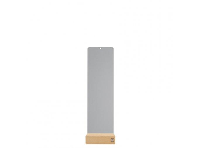 Podstavec pro magnetické květináče 14x50 cm, šedivá