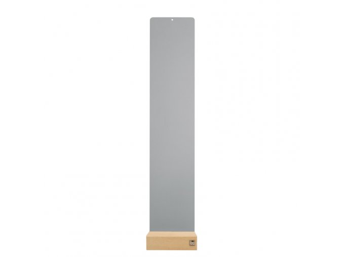 Podstavec pro magnetické květináče 14x70 cm, šedá
