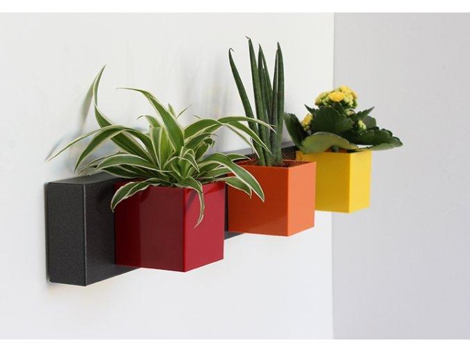 Magnetický držák na květináče 50x8x3,5 cm