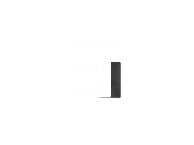 Magnetická tabule 14x50 cm, černá
