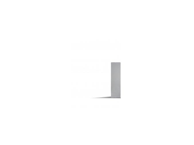 Magnetická tabule 14x50 cm, šedá