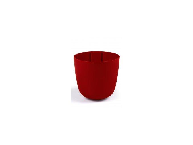 Magnetický květináč BOWL 15cm, červená