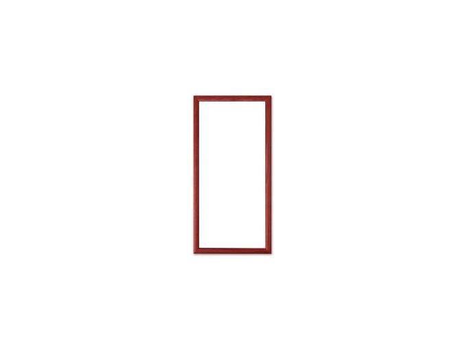 Magnetický obraz 23x50 cm, červená