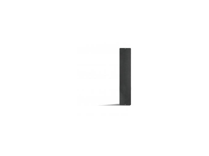Magnetická tabule 14x70 cm, černá