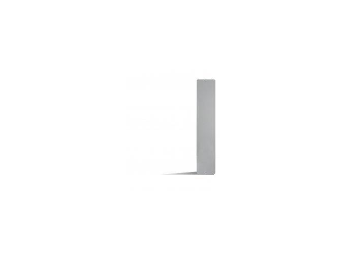 Magnetická tabule 14x70 cm, šedá