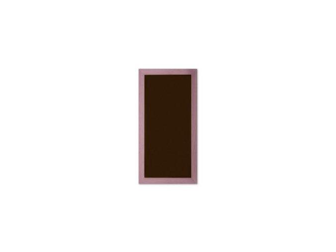 Magnetický obraz 23x50 cm, fialová (černý podklad)