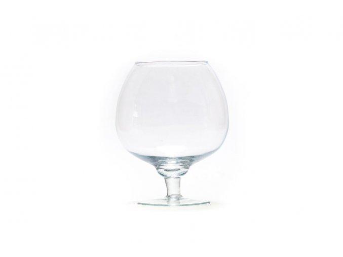 Gardners.cz skleněná váza na nožce (1)