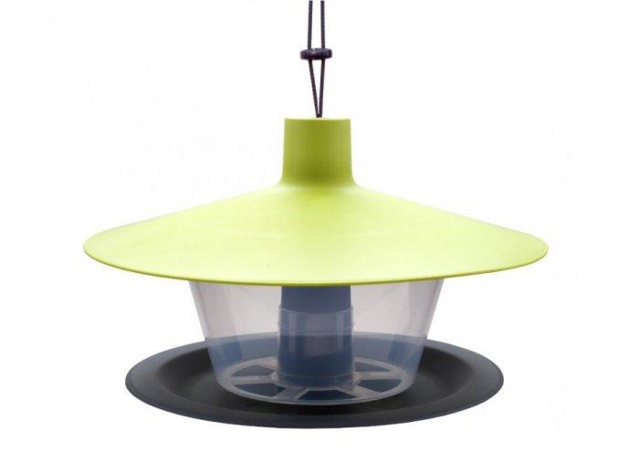 Krmítko pro ptáky Finch zelená střecha + antracit