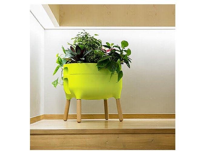 Urbalive nízká pěstební nádoba, zelená