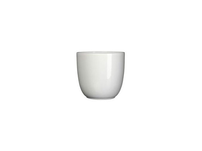Keramický obal BASIC 10 cm, bílá
