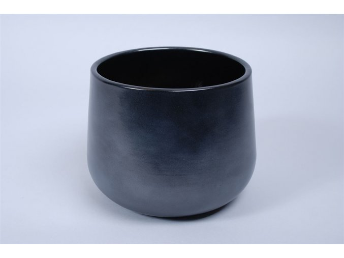 Gardners.cz Keramický obal BERLIN 16 cm, černá