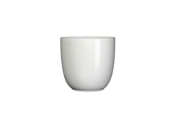 Keramický obal BASIC 16 cm, bílá