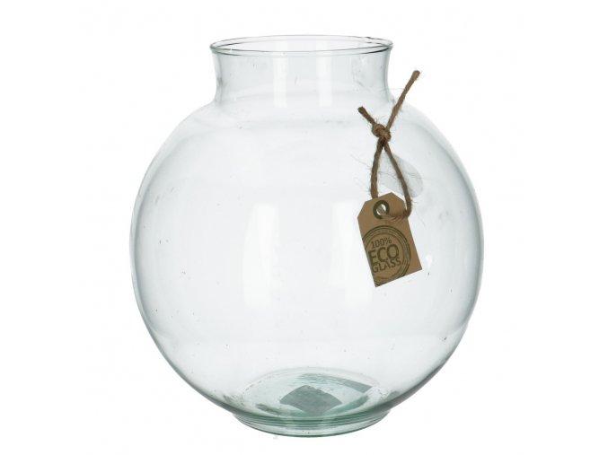 Gardners.cz Skleněná váza SALVIA výška 17 cm, průměr 9 cm