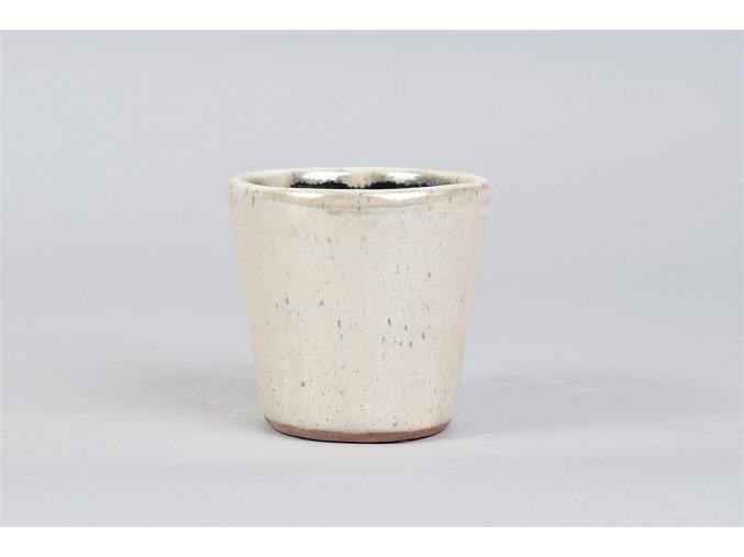 Keramický obal ALICANTE 12 cm, béžová