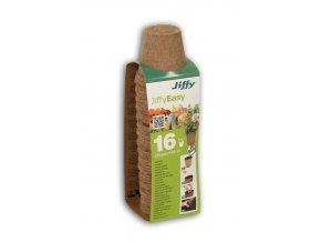 gardners.cz Rašelinový květináč Jiffypot® R8 16, 8 cm balení 16 kusů