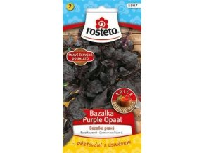 gardners.cz Bazalka pravá Purple Opaal 1g