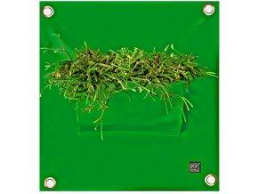 Kapsář na květiny PEVA 50x45 cm, zelená
