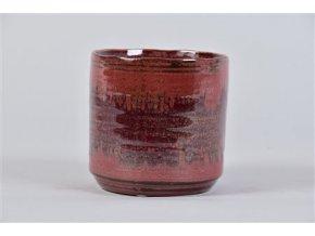 Gardners.cz Keramický obal LISBON 11 cm, vínová