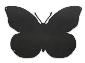 Magnetická tabule motýl 56x38 cm, černá