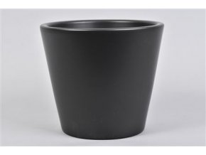 Vinci Mat Zwart Pot Container 21x19cm 109,60
