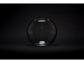 Gardners.cz 2. Skleněná váza boule, průměr 17cm (1675)