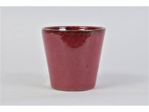 Alicante Pot Ruby Red 15x14cm