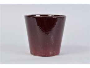 Alicante Pot Ruby Red 17x16cm