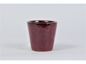 Alicante Pot Ruby Red 11x10cm
