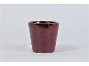Alicante Pot Ruby Red 11x10cm