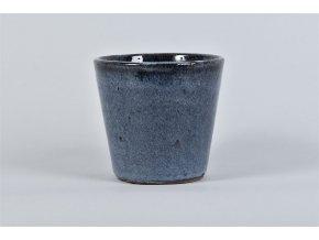 Keramický obal ALICANTE 12 cm, tmavě modrá Výrobce Hoek Flowers