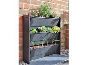 Set 3 ks Plantbox - truhlík pro vertikální pěstování